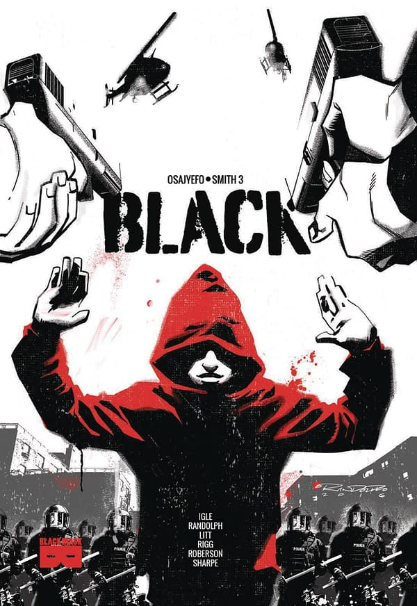 Black Mask Comics Launches 'Survival Fetish' and 'Black [AF] Widows and Orphans' in April 2018 Solicits
