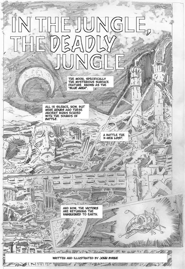 John Byrne Won't Let Marvel Publish His X-Men Fan-Fic Comic, Elsewhen