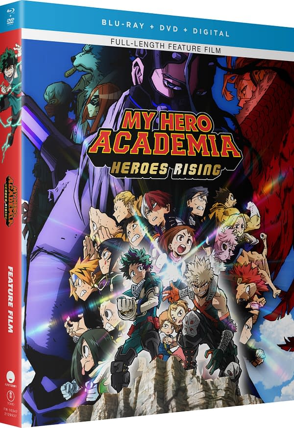 My Hero Academia: Heroes Rising Blu-ray Bundle Out October 27th