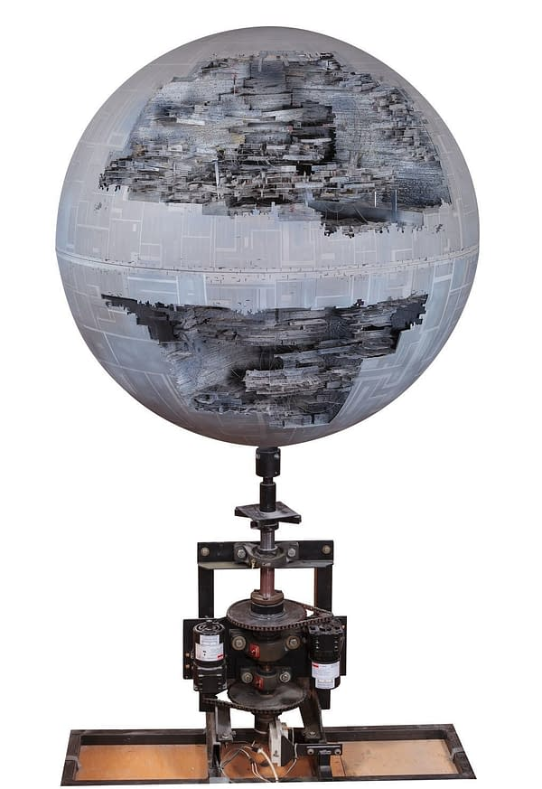 Return Of The Jedi Death Star Sells for $256,000