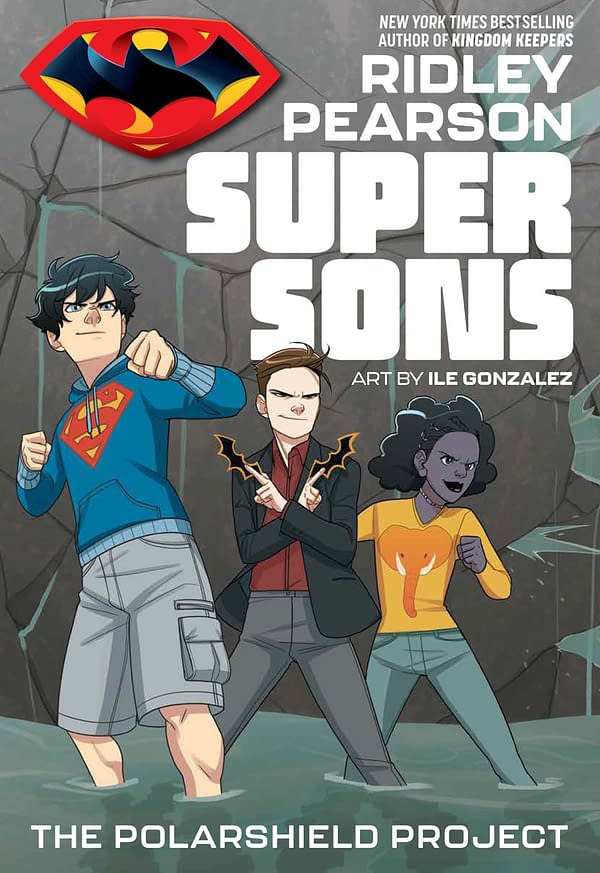 First Preview of DC Zoom's Super Sons by Ridley Pearson and Ile Gonzalez