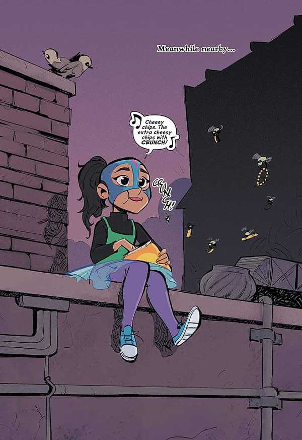 Two New DC Characters, The Hummingbird and Gray, in Anti Hero Out Now.