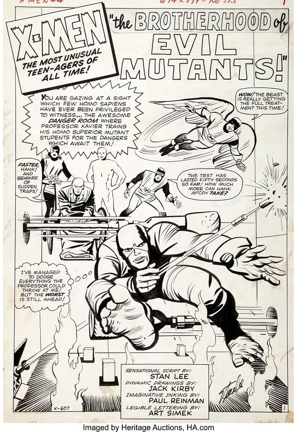 Scarlet Witch: Jack Kirby's Notes On Other Names, from HA.
