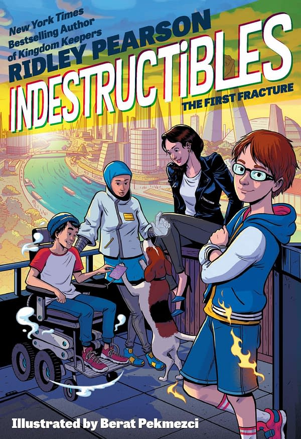 Cover To Ridley Pearson's Indestructibles: The First Fracture