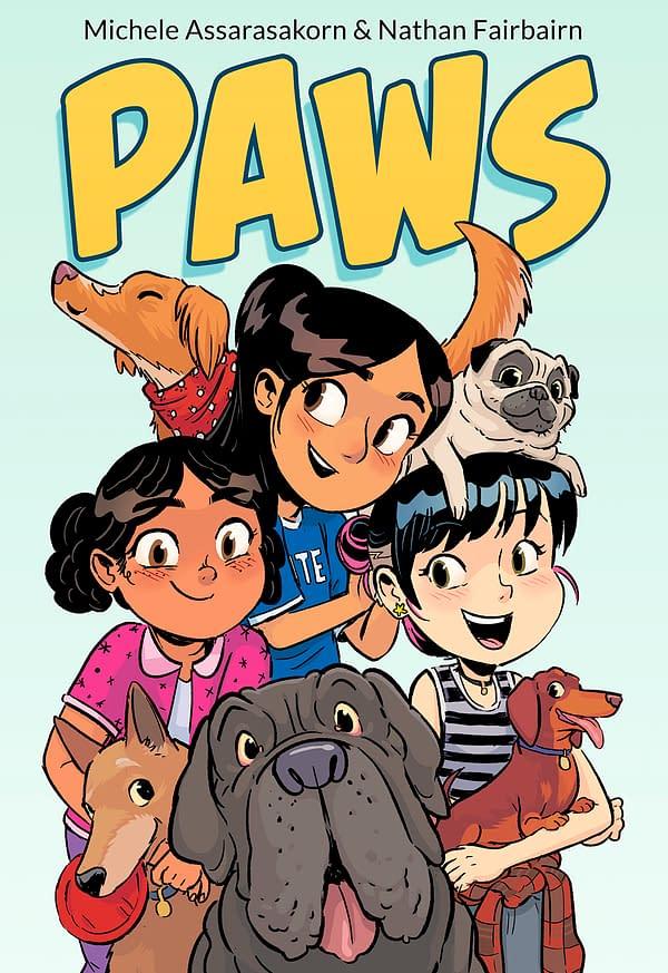 Michele Assarasakorn & Nathan Fairburn Create New Graphic Novel, Paws