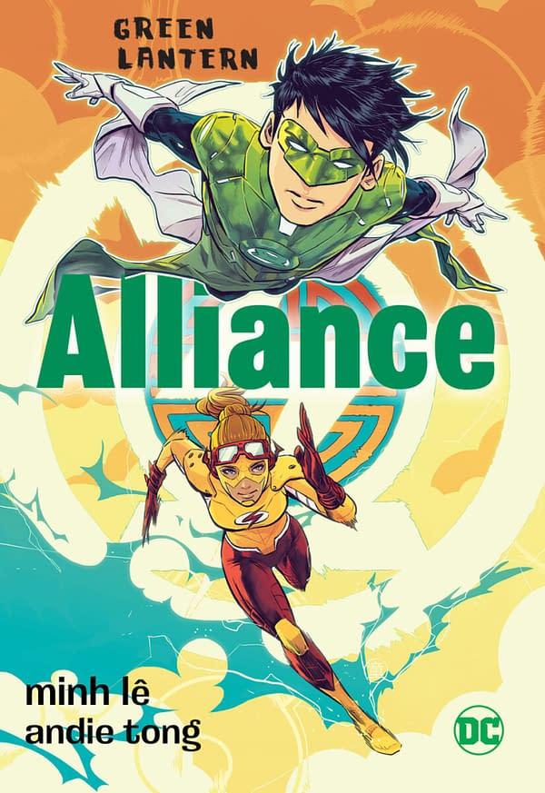 Green Lantern Tai Pham Gets Graphic Novel Sequel, Alliance