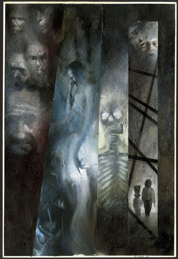 Auction: Neil Gaiman/Dave McKean Black Orchid/Signal To Noise Artwork