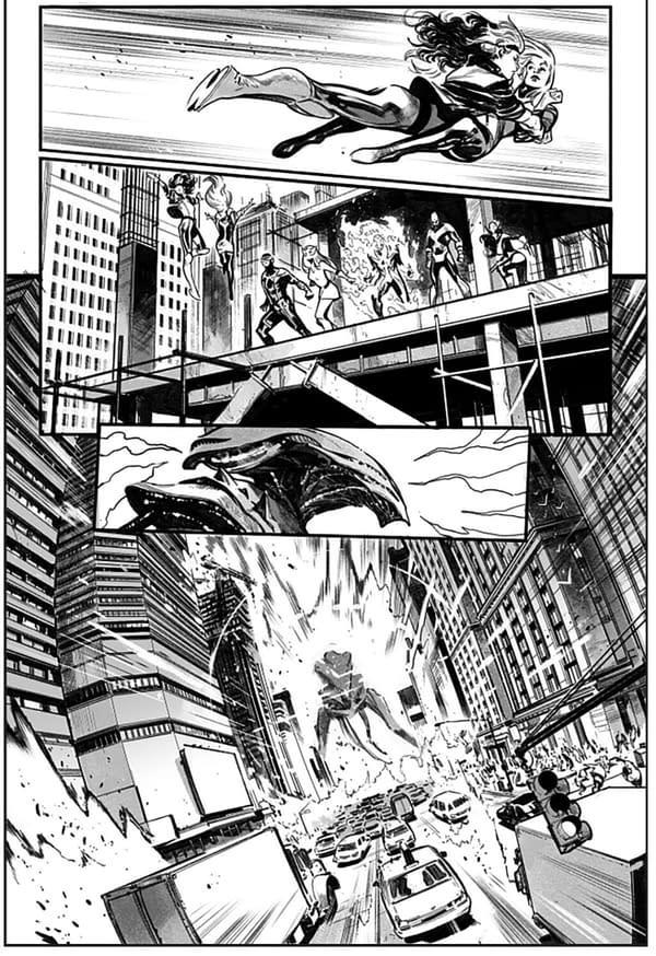 Gerry Duggan and Pepe Larraz's X-Men #1