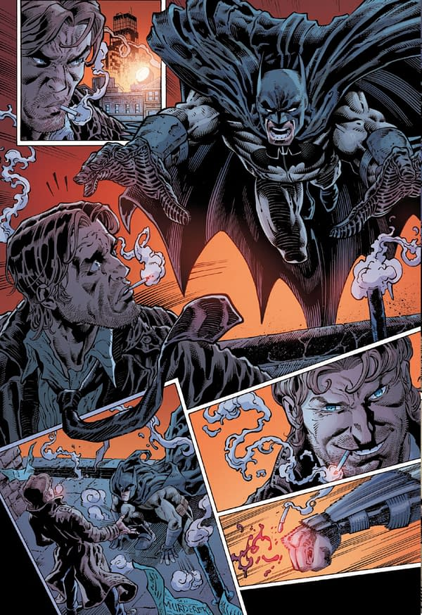 First Look At Fables Spinoff, Batman Vs Bigby From DC Comics