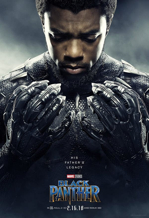 Check Out These 7 Stunning New 'Black Panther' Posters