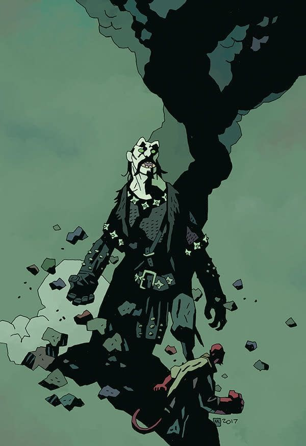 Koshchei the Deathless #6 cover by Mike Mignola