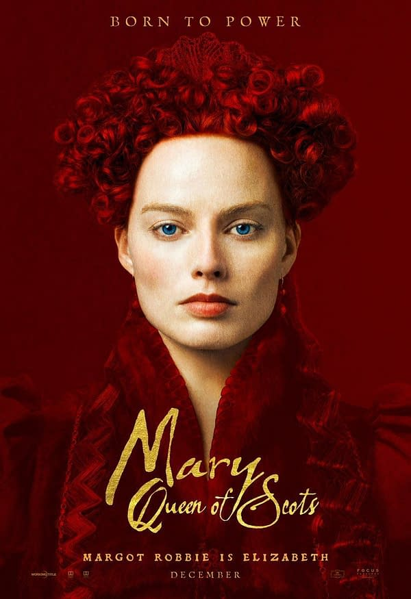 Margot Robbie, Saoirse Ronan Official 'Mary Queen of Scots' Posters