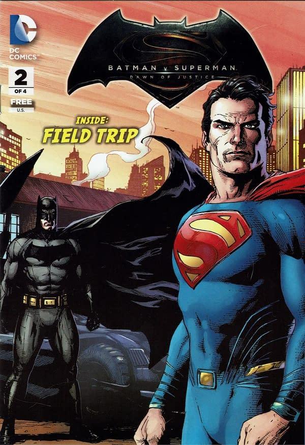 Obscure Comics: General Mills Presents Batman V Superman Cereal & #2