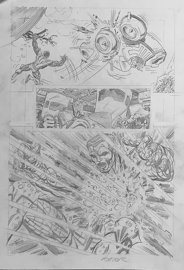 C.B. Cebulski Meets John Byrne – Discussing Marvel Comics Publishing X-Men: Elsewhen?