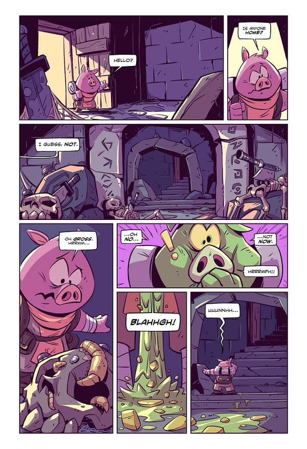 4 KaBOOM! Previews for All-Ages Summer Reading: Adventure Time, Dodo, RuinWorld, and Petals