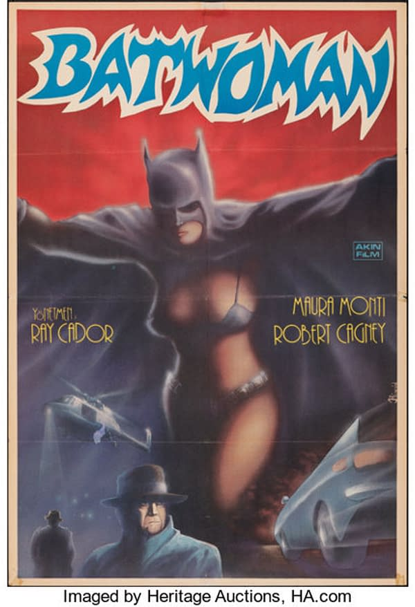 The Batwoman Turkish Poster Could be Yours From Heritage Auctions!
