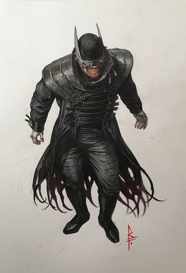 Mindless Metal Speculation: What If The Batman Who Laughs Is Not Jokerised?