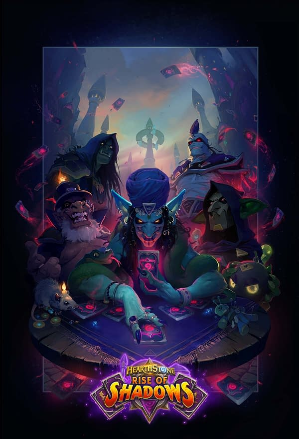Hearthstone Reveals Their Next Expansion as Rise Of Shadows