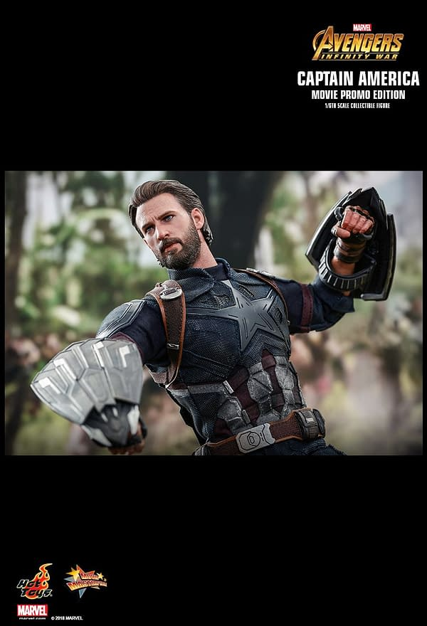 Captain America Gets His Infinity War Hot Toys Release