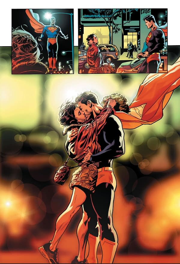 When Superman Snogs Lois Lane In Front Of Everyone – Action Comics #1004, Page and Script
