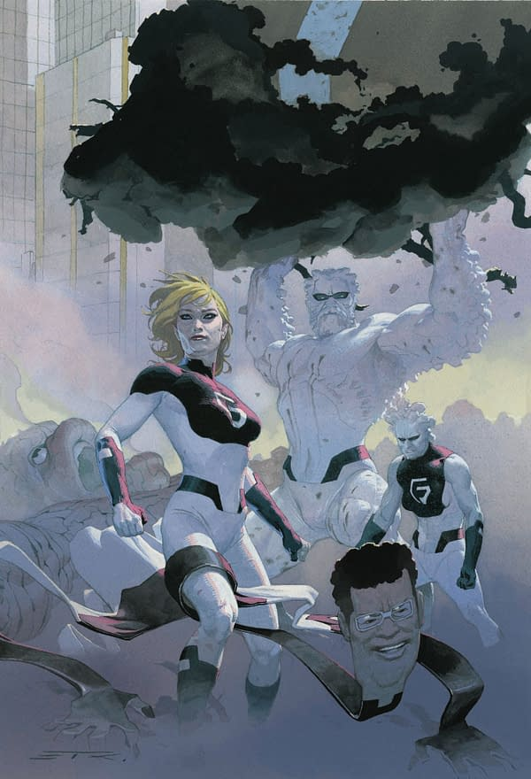 Sara Pichelli Replaced on Fantastic Four #4 by Stefano Caselli
