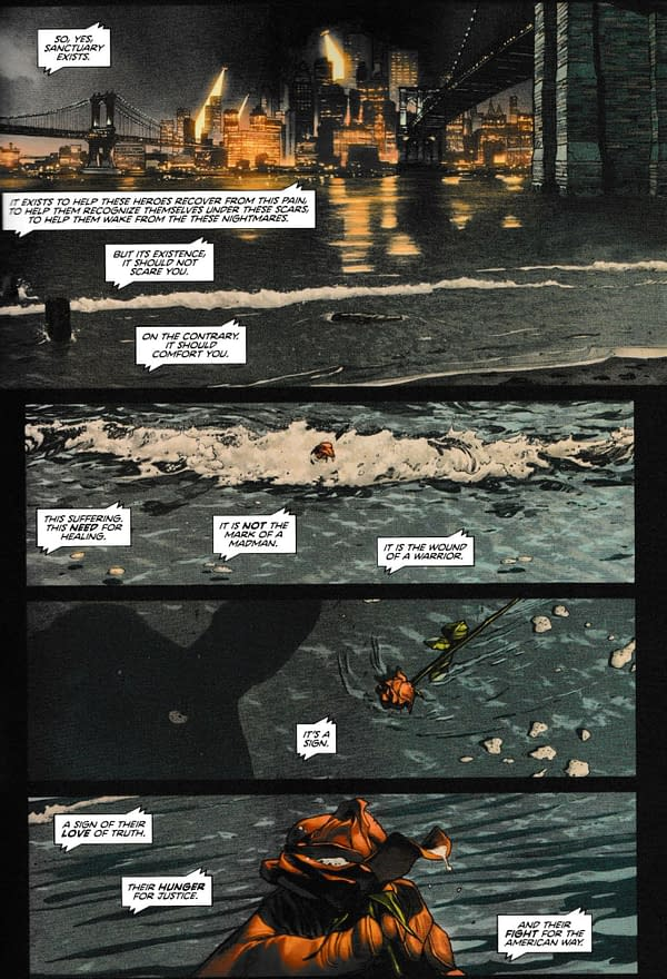 Does This Scene Indicate Poison Ivy is Alive in Heroes In Crisis? Or Who Killed Her? (Spoilers)