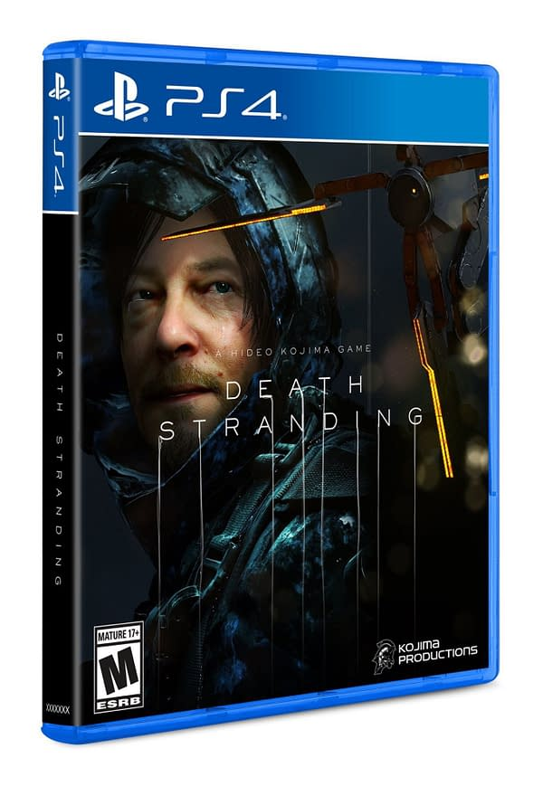 """The Box Art For """"Death Stranding"""" Revealed At SDCC 2019"""