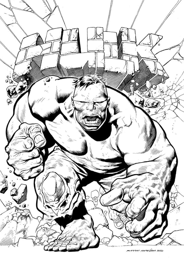 Kevin Nowlan Draws The Immortal Hulk in May