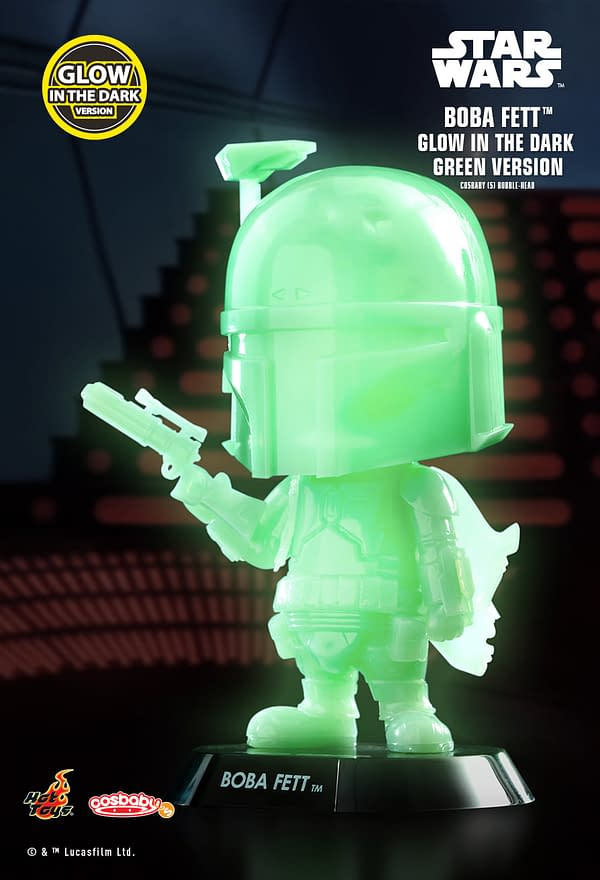 New Glow-in-the-Dark Star Wars Hot Toys Cosbaby's Coming Soon