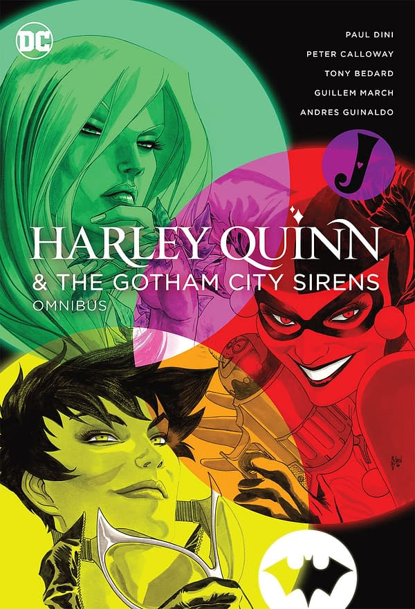 DC Comics Cancels Harley Quinn And The Gotham City Sirens Omnibus
