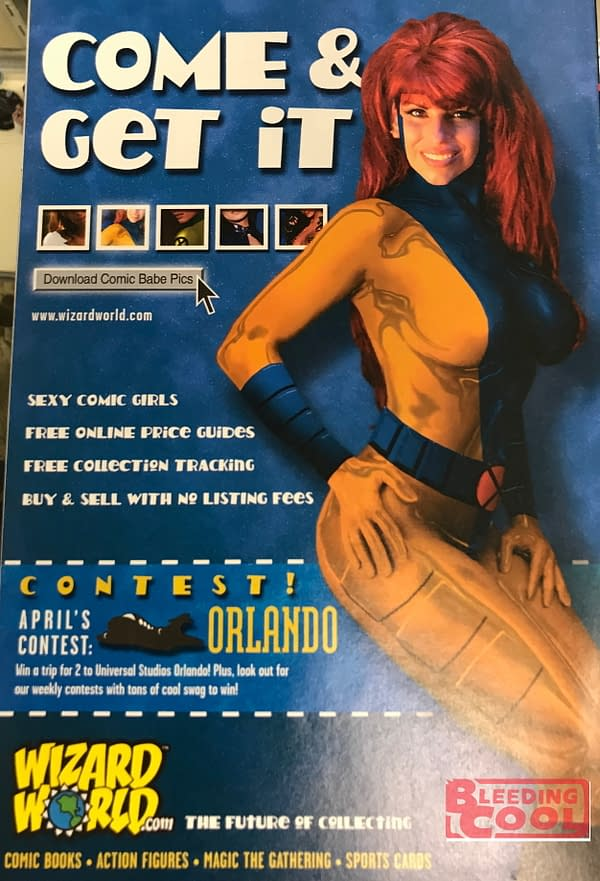 How Wizard World Used To Market Themselves - In 2001