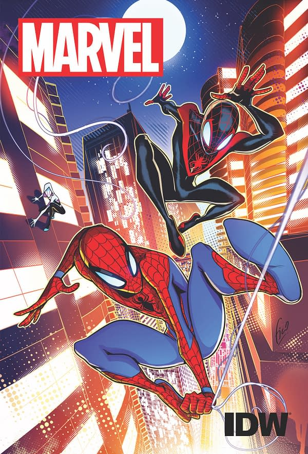 Spider-Man #1 in IDW November 2018 Solicitations Joins Go-Bots, Star Wars, Atomic Robo, Magic and Sukenban Turbo Launches