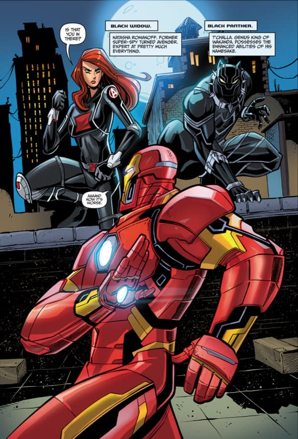 Preview of a Brand New Avengers #1 from IDW – Without Tony in the Suit?