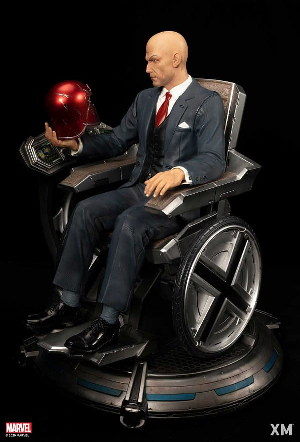 X-Men Professor X Gets His Own Statue With XM Studios