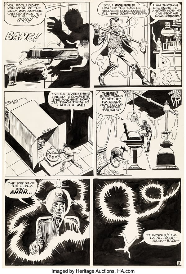 Steve Ditko Original Artwork From Doctor Strange, At Auction