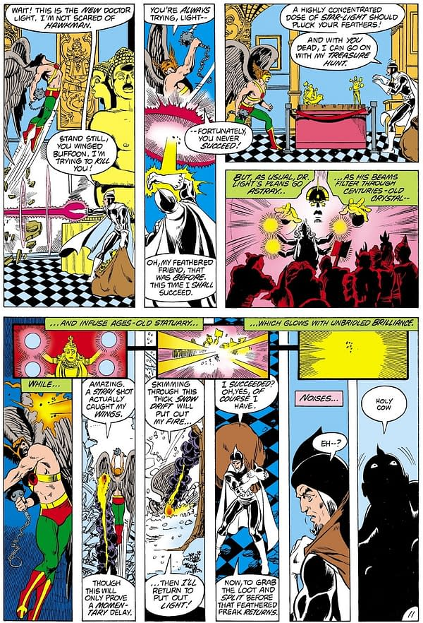 Grab a Page Of George Perez Teen Titans #19 Original Art From 1982