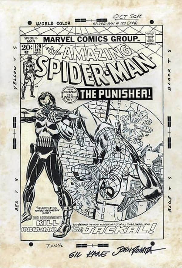 First Punisher Original Artwork Goes to Auction, Estimated $2 Million