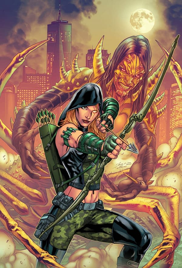 Robyn Hood: Cult of the Spider cover. Credit: Zenescope Entertainment
