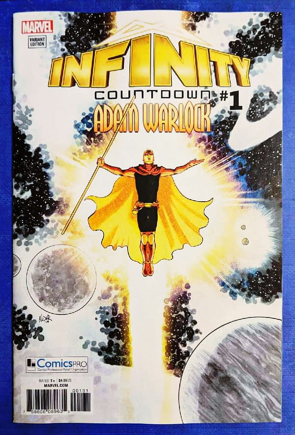 infinity countdown ComicsPRO Variant