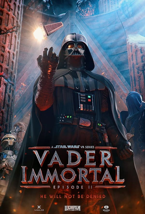 """""""Vader Immortal: Episode II"""" Gets A Surprise Release At Oculus Connect"""