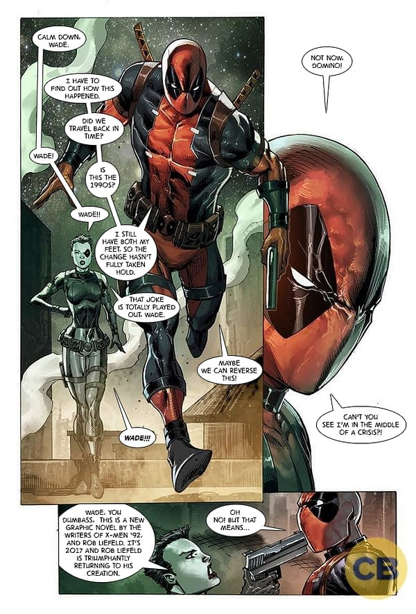 Improbable Previews: Timeslide Into A Meat And Potatoes Future In Deadpool: Bad Blood