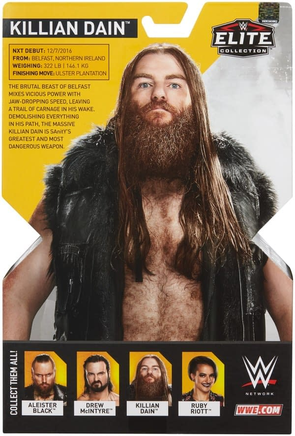 WWE NXT Killian Dain Figure 4