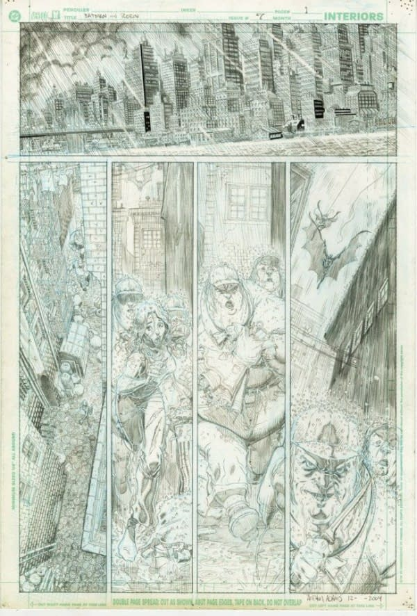 The Art Adams All Star Batman That Never Was – Sixteen Pages Of It