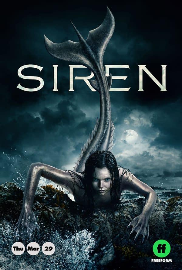 Siren's Eline Powell Talks Mermaids, Cast Camaraderie, and Geek Guilty Pleasures [The Weekly Static: Interviews]