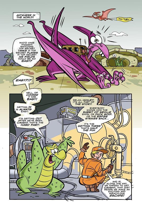 Rob Walton and Ragmop Split From Vault Comics