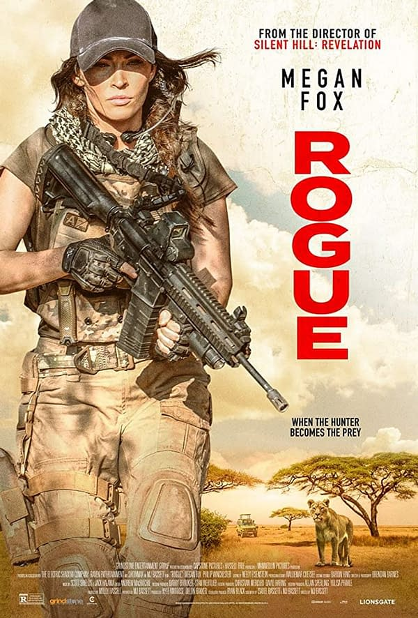 Megan Fox Stars As A Mercenary In New Film Rouge, Coming August 28th