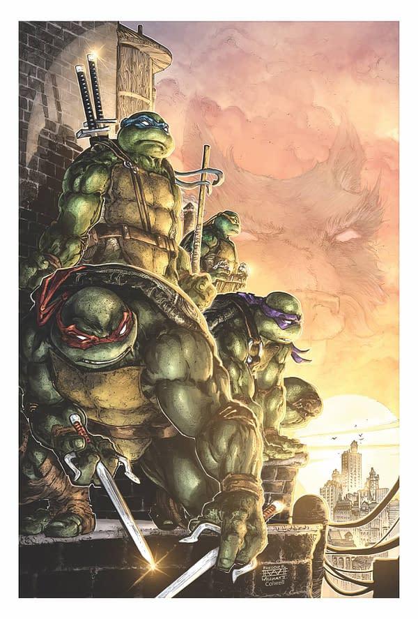 LATE: Teenage Mutant Ninja Turtles #100 Slips to December