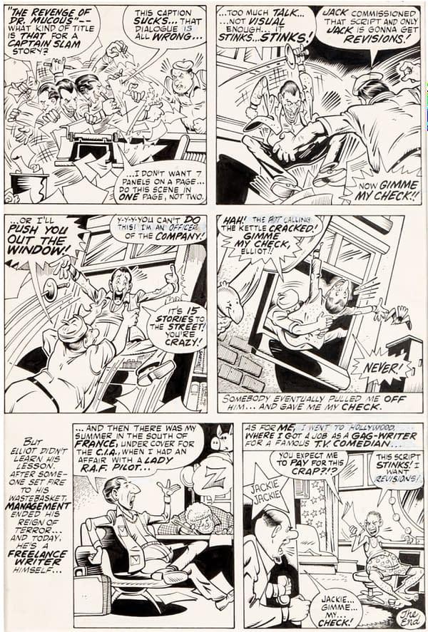 Auction: Destroyer Duck #1 Full Martin Pasko, Joe Straton Original Art