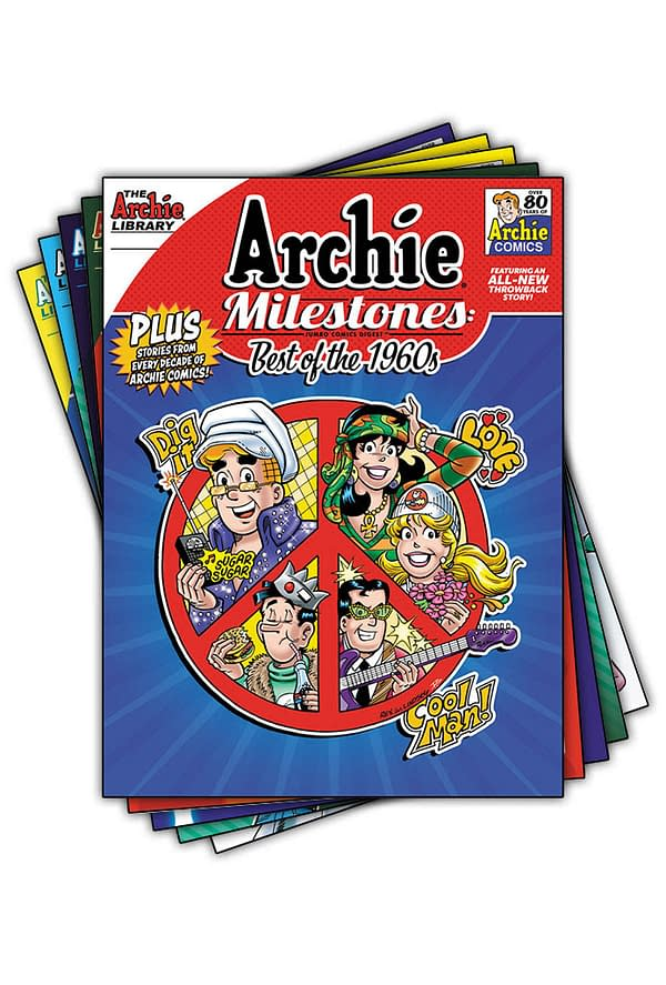 New Throwback Stories Added to Archie Milestones Collections