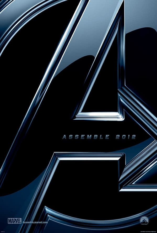 Assemble 2012:  The First Official Teaser Poster For THE AVENGERS Is Released